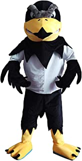 CostumeShine Fierce Falcon Eagle Mascot Costume for Adult Men Women Animal Cartoon Costume
