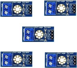 HiLetgo 5pcs Voltage Detection Module DC 0~25V Voltage Sensor for Arduino