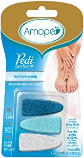 Amope Pedi Perfect Electronic Nail File Refills, 3 Count,