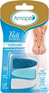 Amope Pedi Perfect Electronic Nail File Refills, 3 Count,