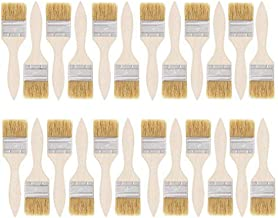 Sohapy 24 Pack 2 inch Width Paint Bristle Brushes for Paint, Glues, Varnishes, Gesso,or Stains