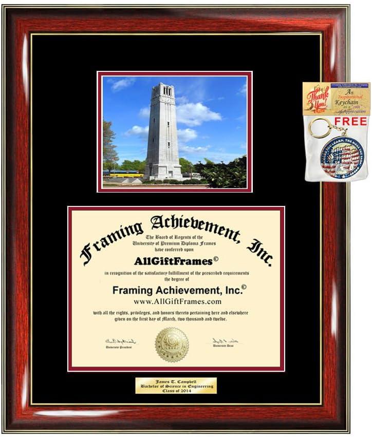 Diploma Direct store Max 51% OFF Frame NCSU North Carolina Graduation University State Gi