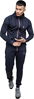 Urban Athletic - Mens Joggers Tracksuit Set Slim Fit Full Sleeve Polyester Zipper Up Hoodie Tops and Bottom Men Tracksuit ...