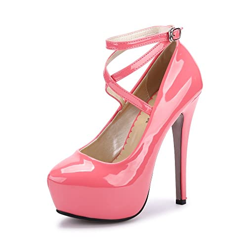 aec60518335 Pink Platform Heels: Amazon.co.uk