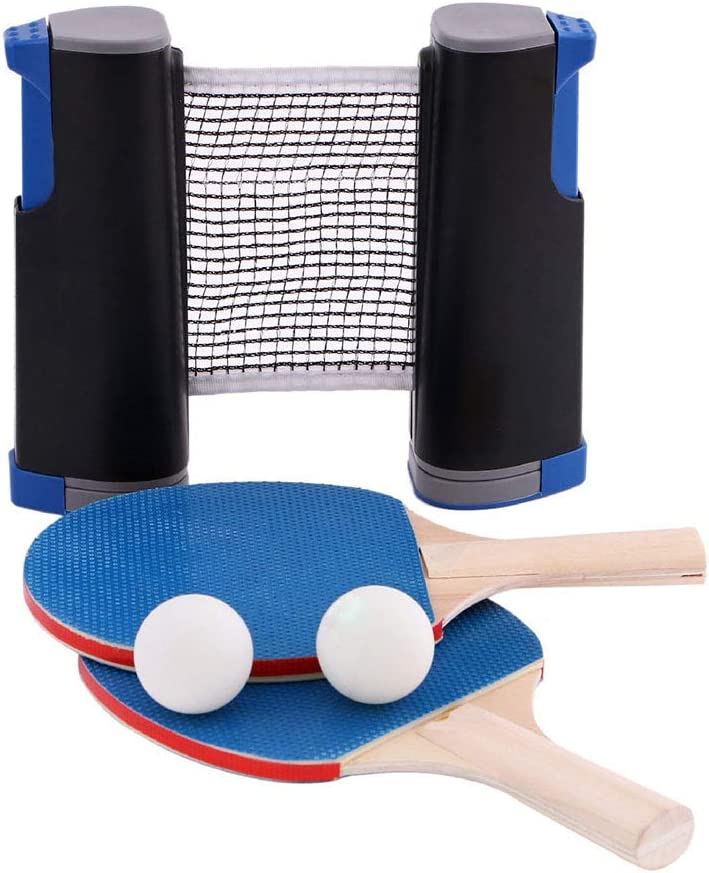 DUOKEAI Seasonal Wrap Introduction 3 Balls Foldable 2 Retractable Selling and selling Bats Suppli Entertainment