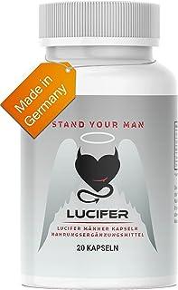 Lucifer Premium MÄNNER Kapseln, für echte Männer, rezeptfrei, perfekt für die Lust,..