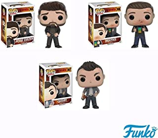 Pop! Television: Preacher - Jesse Custer, ArseFace, Cassidy Vinyl Figures! Set of 3