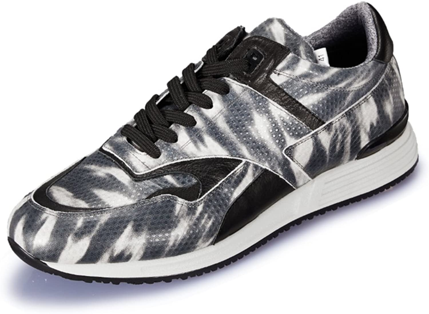 WLJSLLZYQ Autumn and Winter Sports shoes Outdoor Leisure shoes Camo Athletic shoes of England