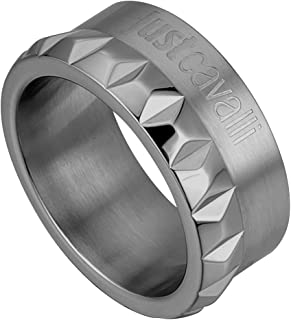 Just Cavalli Fashion Ring For Men Stainless Steel - Size 10 EU