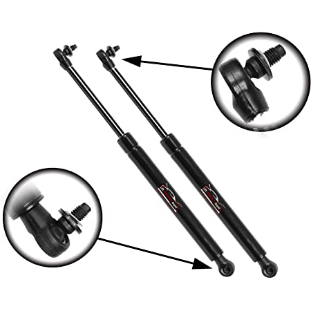 WOVELOT 2PCS Tailgate Rear Trunk Lift Supports Shock Struts for Lr3 2005-2013 These are Compatible with The Upper Window, Not The Tailgate