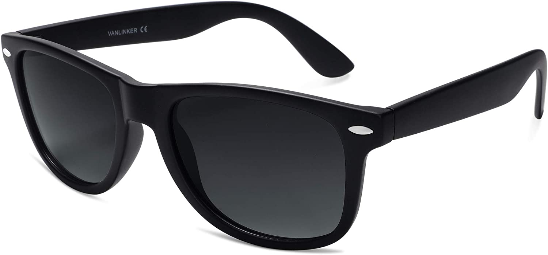 Ranking TOP17 VANLINKER Polarized Square Sunglasses It is very popular for Shades Retro Men Women