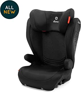Diono Monterey 4 DXT Latch, The Original Expandable Booster Seat, 40-120 lbs, Black