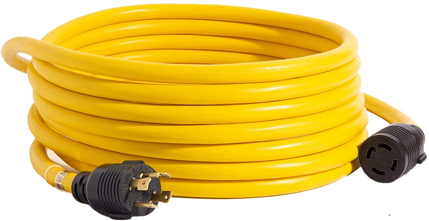 Houseables Generator Cord 30 Amp 4 New wholesale Shipping Free Extension Prong Generators