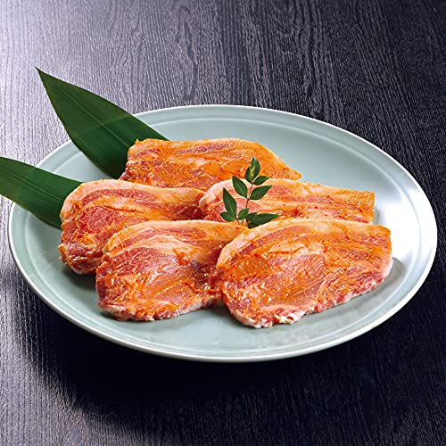 鹿児島県産【黒の匠】 黒豚ロース味噌漬け(約100g×5枚)