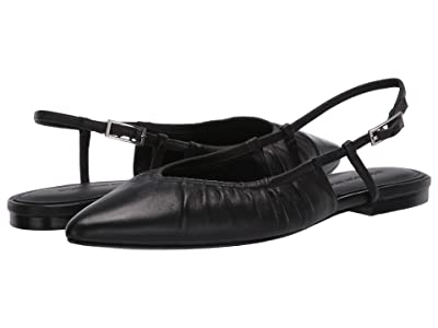 Sigerson Morrison Lamya (Black Leather) Women