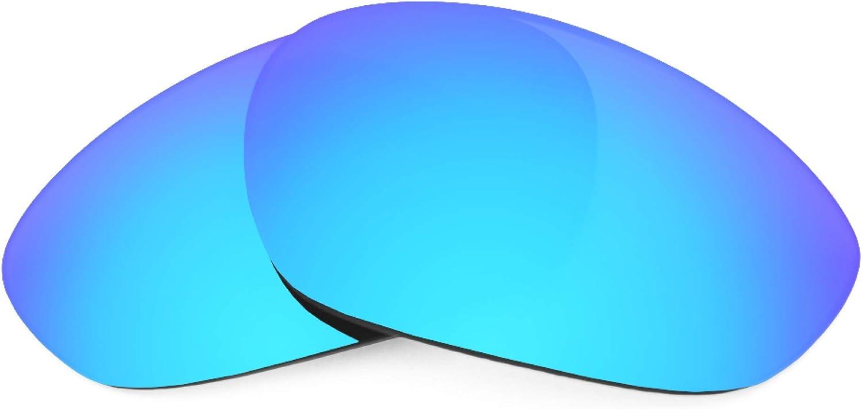 Revant Verres de Rechange pour Oakley Minute 2.0 - Compatibles avec les Lunettes de Soleil Oakley Minute 2.0 Bleu Glacier Mirrorshield - Polarisés
