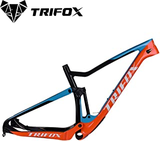 TRIFOX Superlight T800 Full Carbon Fiber MTB Suspension Frame, 29er, Boost 148 12 mm Rear Spacing