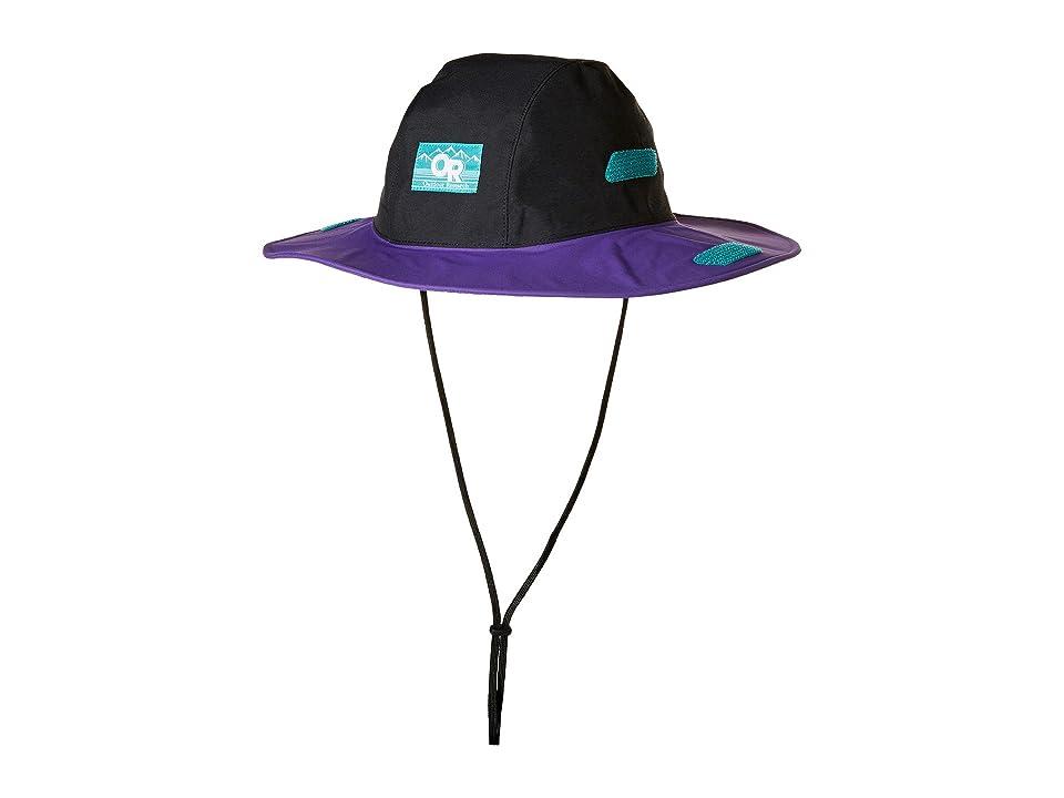 Outdoor Research Seattle Sombrero Retro (Black/Purple Rain) Knit Hats