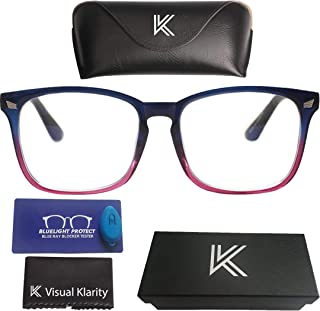 Blue Light Filter Computer Glasses for Blocking UV and Anti
