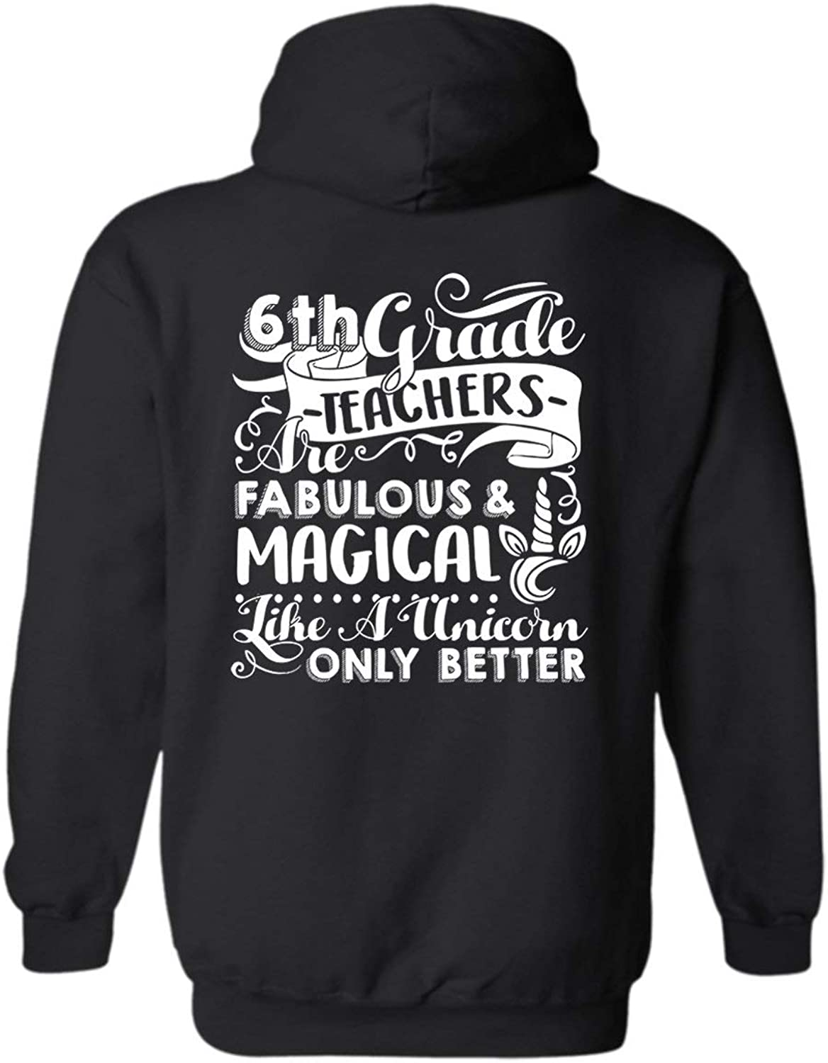 Zira Frog 6th Grade Teachers are Fabulous Hoodies, Unisex Hooded Sweatshirts