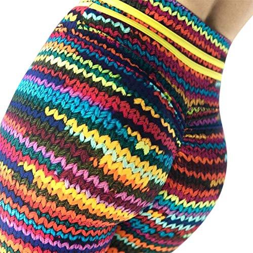 Metermall Fashion For Woman Casual Simulate Series Digital Printing Pants Leggings Slim-fit Trousers