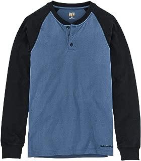 Timberland PRO Men's A1I39 Cotton Core Long-Sleeve Henley