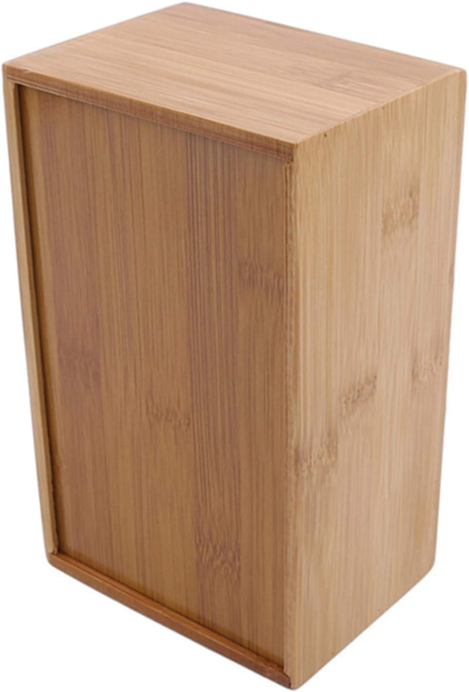 11,7 * 12 * 8,8 cm Bo/îte /À Mouchoirs en Bambou Bo/îte /À Serviettes pour Mouchoirs QQWA Bo/îte /À Mouchoirs en Bois Distributeur De Serviettes en Papier pour Table