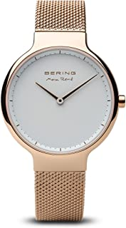 BERING Time 15531-364 Womens Max René Collection Watch with Mesh Band and Scratch Resistant Sapphire Crystal. Designed in Denmark.