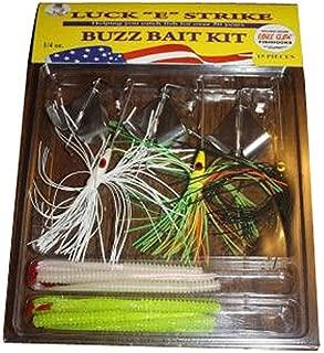 Buzz Bait Kit 15 pièces Lucky Strike 1//4 Oz