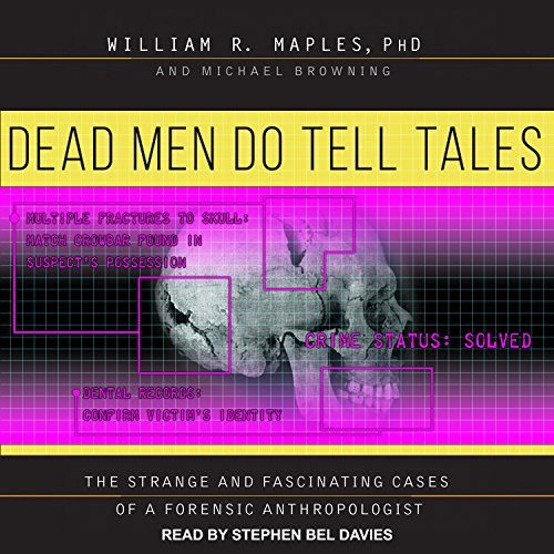 Dead Men Do Tell Tales audiobook cover art