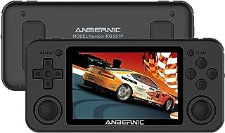 Anbernic RG351P Console de Jeux Portable [2500 Classiques Jeux], Soutien PSP/PS1/N64/NDS, RG351P Console de Jeux vidéo Ret...