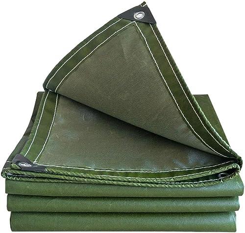 XJLG-Bache Tissu imperméable Bache, bache d'isolation Solaire de voituregaison bache d'isolation extérieure résistant à l'usure de Tissu de Prougeection en Bois épaissie Toile de feu Tente de Camping en p