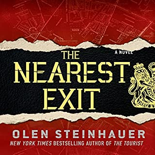 The Nearest Exit audiobook cover art