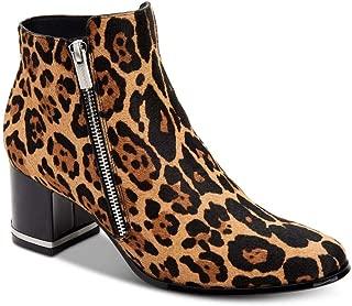Women's Fara Booties, Natural Winter Leopard, 9.5 M