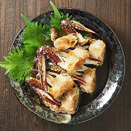 カンジャンケジャン 約160g タレ70g付き(ワタリガニの醤油ダレ漬け5?6肩)渡り蟹 カニキムチ 冷凍便