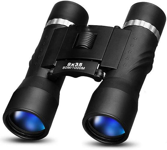 YYHSND Jumelles Portables 10x25 Film HD Et Bleu pour IPX3 Imperméable Au Quotidien télescope