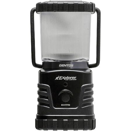 GENTOS(ジェントス) LED ランタン 【明るさ360ルーメン/実用点灯27-78時間/防滴】 エクスプローラー EX-V777D 防災 あかり 停電時用 ANSI規格準拠