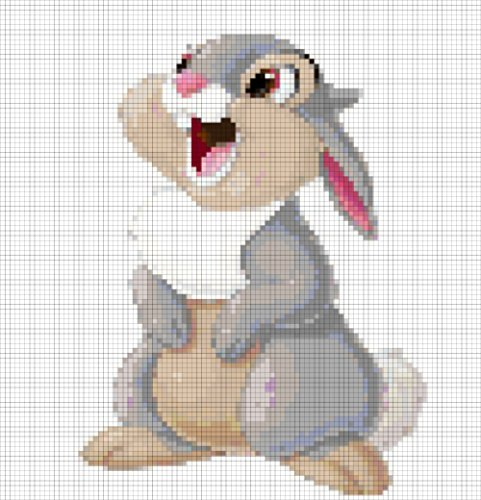 Thumper - 14 Count Cross Stitch (English Edition)