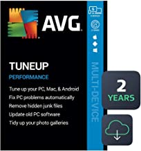 $24 » AVG TuneUp 2020 | 5 Devices, 2 Years [PC/Mac/Mobile Download]