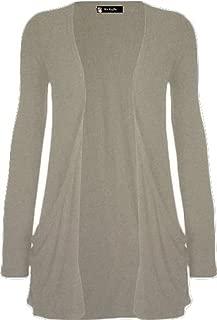 Momo Fashions - Ladies Long Sleeve Boyfriend Cardigan Size 8-26