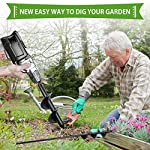 """SETROVIC Garden Spiral Hole Drill Planter 1.6""""x18"""" & 4""""x12"""" Garden Auger Bulb Planter Tool Rapid Planter Garden Drill Planter Hole Digger for 3/8"""" Hex Driver Drill 2-in-1 Set 18 【2-in-1 Set】1.6""""x18"""" & 4""""x12"""" bulb planter suitable for various planting requirements. Thickened and elongated drill enables easier drilling and thickened link rod is more durable and resistant, quickly digs holes up using the power of your hand held drill. 【High Quality Products】 Made of heavy duty steel, with premium glossy painted finish. The auger drill bit point on it hits the ground first and keeps it steady when you are digging hard grounds. The rod is connected with the shaft, it's difficult to break.This auger drill bit is suitable for most 3/8"""" hex drive drill. 【Efficient Planting】Our bedding plants drill bit will make hundreds of holes in few minutes, makes hole digging easier, it will save your time & save your back. The long size drill bit allows you to stand and dig. It can save much effort for you in massive digging."""