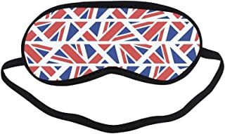 All Polyester Flag Country Flag Retro Vintage Design Sleeping Eye Masks&Blindfold by Simple Health with Elastic Strap&Headband for Adult Girls Kids and for Home Travel