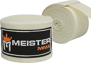 "Meister ELITE 180"" Premium Adult Hand Wraps for MMA & Boxing (Pair)"