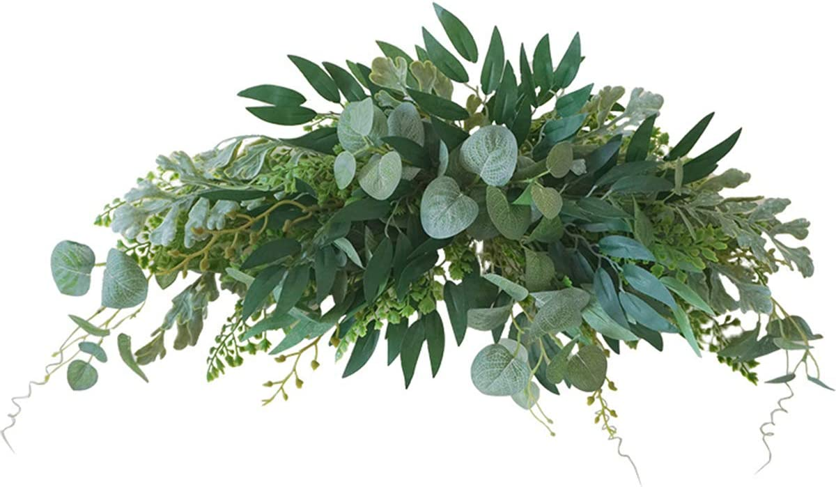 5 popular DERCLIVE Artificial Leaves Cash special price Decoration Green Front Doo for