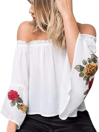 Blusas Superiores Elegantes Moda Primavera Camisa Mujer ...