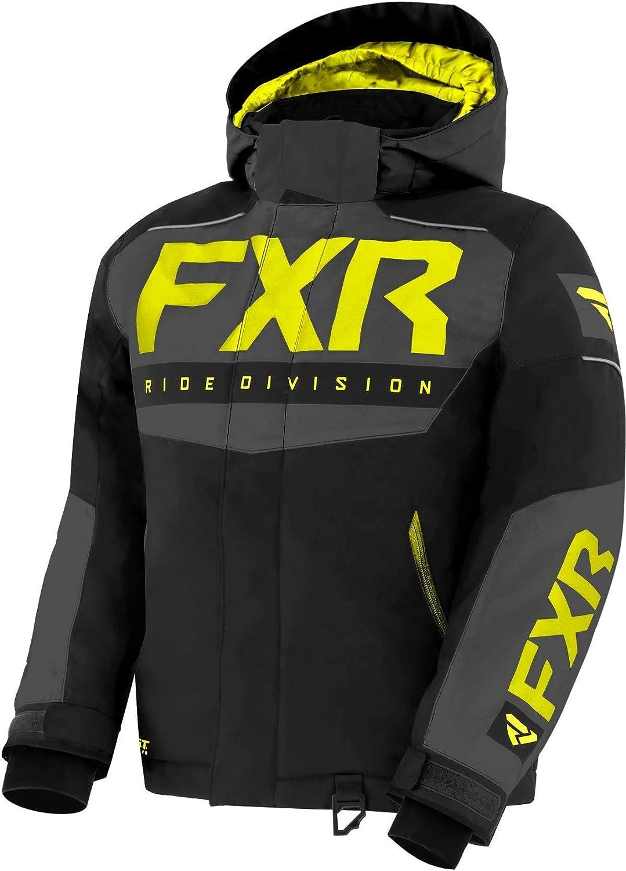 Fuchsia Fade//Black//Hi-Vis - 4 FXR Child Helium Jacket 2021