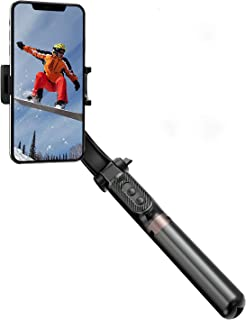 iWALK Gimbal Stabilizer for Smartphone,Auto Balance, Reduce Shaking,1-Axis Handheld Pan-tilt Tripod with Built-in Bluetoot...