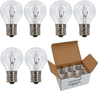 25 Watt Lava Lamps Bulbs,S11 Intermediate E17 Base Replacement Bulbs for Lava Lamps,Glitter Lamps