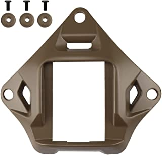 Aoutacc Tactical Helmet NVG Mount Shroud Steel Sports Camera Bracket Base for ACH MICH OPS-Core Fast Helmet