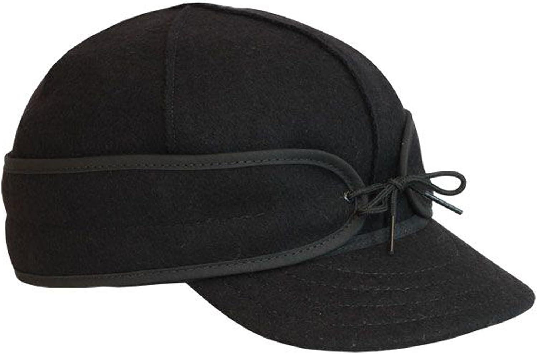 Stormy Kromer Men's Orginial Cap Black 7 3 8